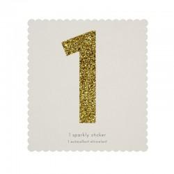 Adesivo glitter n° 1