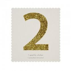 Adesivo glitter n° 2