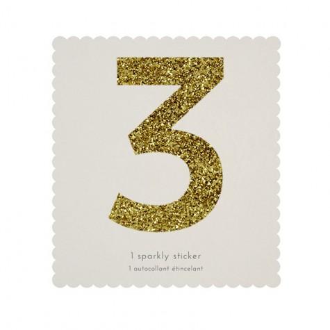Adesivo glitter n° 3