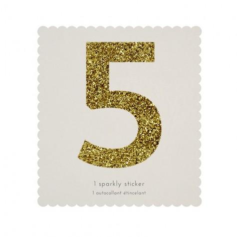 Adesivo glitter n° 5