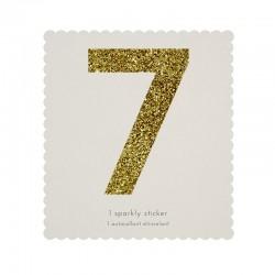 Adesivo glitter n° 7