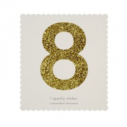 Adesivo glitter n° 8