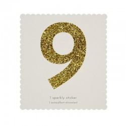 Adesivo glitter n° 9