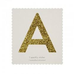 Lettera adesiva A