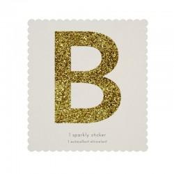 Lettera adesiva B