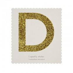 Lettera adesiva D