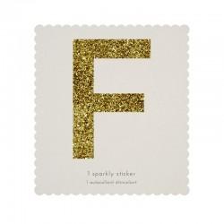 Lettera adesiva F