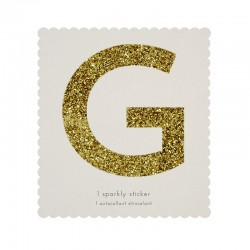 Lettera adesiva G