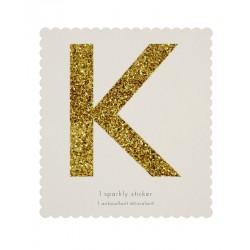 Lettera adesiva K