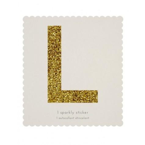 Lettera adesiva L