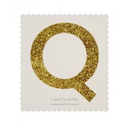 Lettera adesiva Q