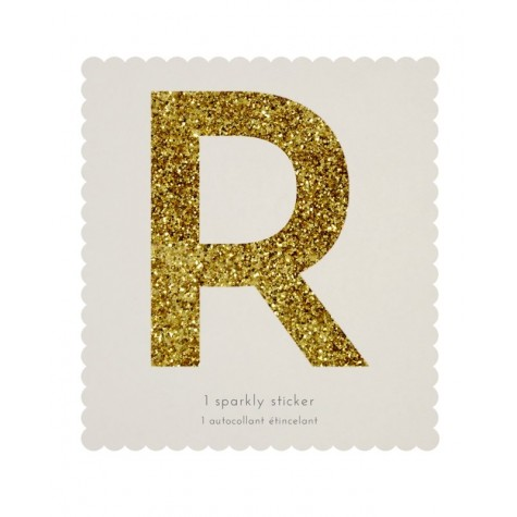 Lettera adesiva R