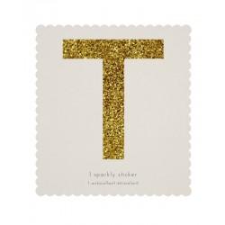 Lettera adesiva T