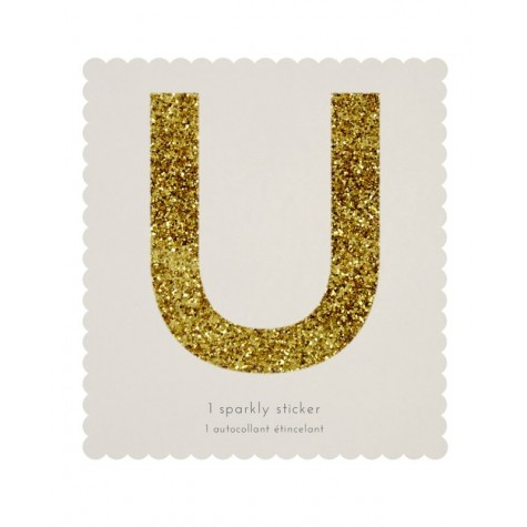Lettera adesiva U