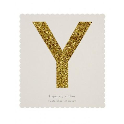 Lettera adesiva Y