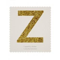 Lettera adesiva Z