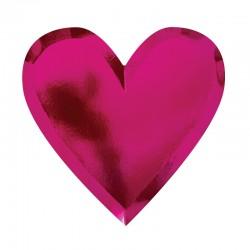 Piatti a forma di cuore di San Valentino