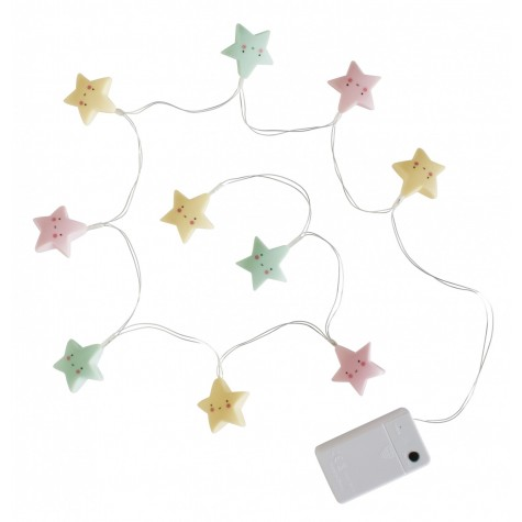 Luci a led stelle colorate