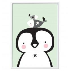 Poster pinguino & co.