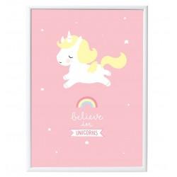Poster Believe in Unicorns