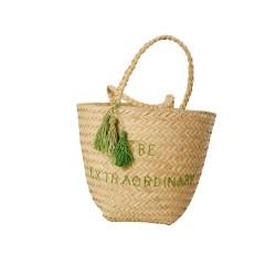 """Be Extraordinary"" beach bag"