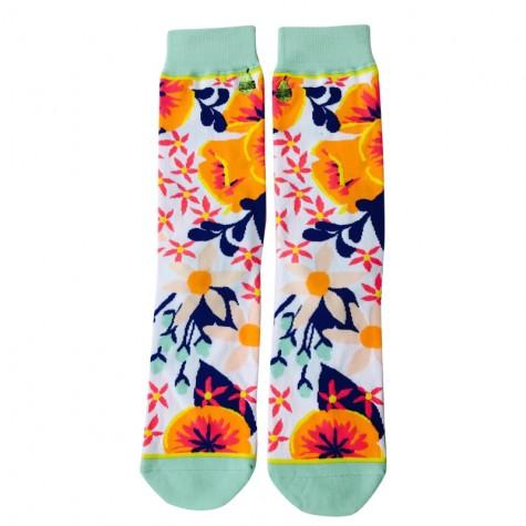 Calzini fiori colorati
