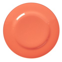 Coral round plate