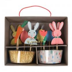 Pirottini e decorazioni per cupcake pasquali