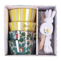 Pirottini e decorazioni per cupcake, Pasqua edition