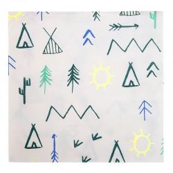 Tovaglioli di carta fantasia Esploratore