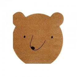 Tovaglioli di carta fantasia orsetto