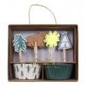 Pirottini e decorazioni per cupcake
