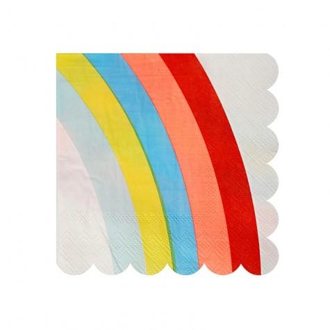 Tovagliolini di carta arcobaleno