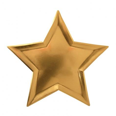 Piatti di carta a stella