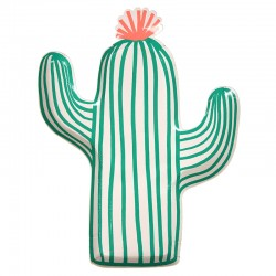 Piatti di carta a forma di cactus