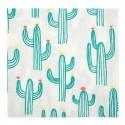 Tovaglioli di carta fantasia cactus
