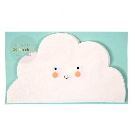 Tovaglioli di carta a forma di nuvoletta