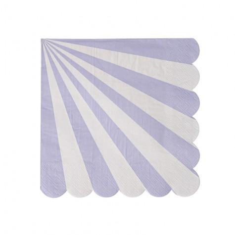 Tovagliolini di carta a righe