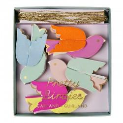 Ghirlanda con uccellini