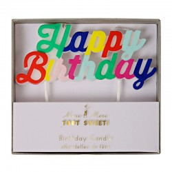 Candela Happy Birthday multicolor