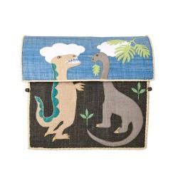 Casetta portagiochi fantasia dinosauri