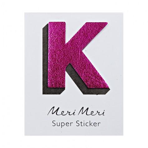 Sticker eco-pelle lucida K