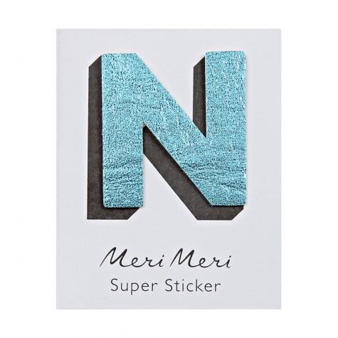 Sticker eco-pelle lucida N