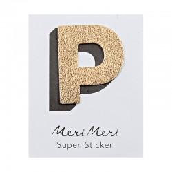 Sticker eco-pelle lucida P