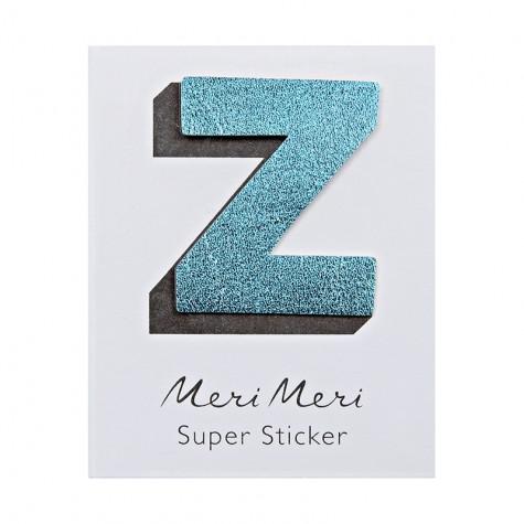 Sticker eco-pelle lucida Z
