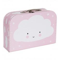 Valigetta rosa con nuvoletta