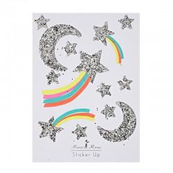 Stickers adesivi stelle e luna