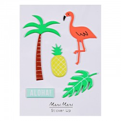 Stickers adesivi tropicali