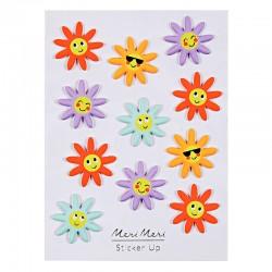 Stickers adesivi fiori