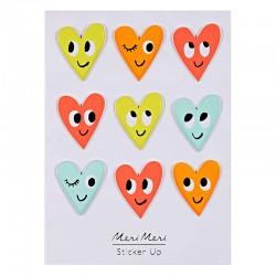 Stickers adesivi cuore con smile